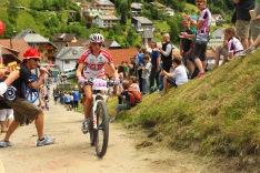 Action am Berg beim Ultrabike 2012, © Sportograf
