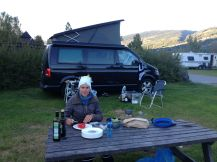 Camping beim Weltcup in Hafjell