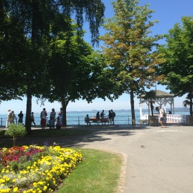 Uferpromenade in Bregenz